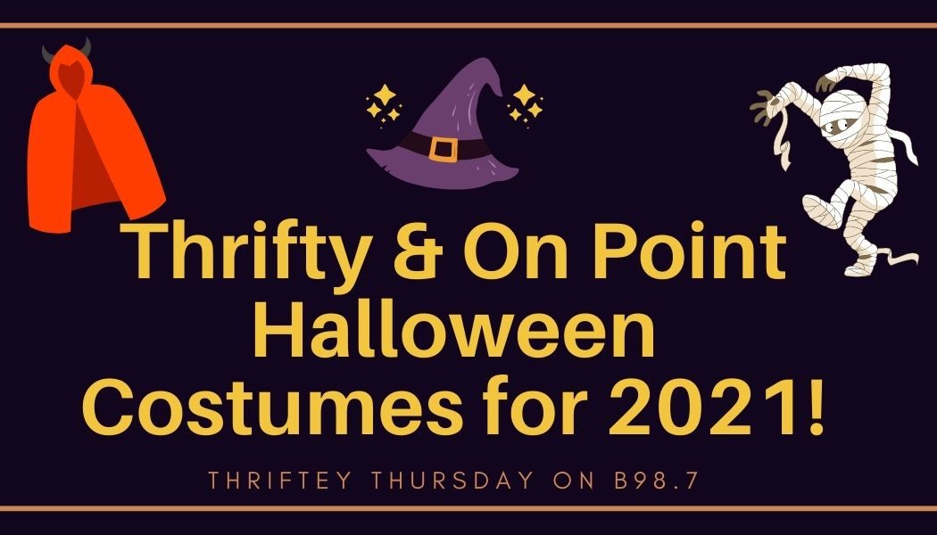 Thrifty and On Point Halloween Costumes for 2021!