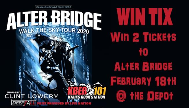 Win TIX to Alter Bridge @ The Depot February 18th