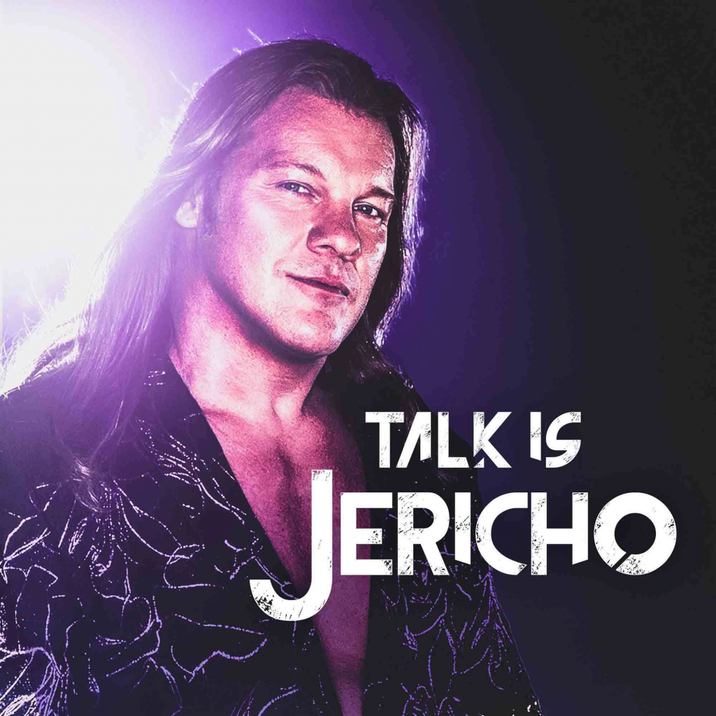 """Talk Is Jericho Recorded from all over the globe, multiple time world champion pro wrestler, lead singer of Fozzy and New York Times best-selling author Chris Jericho rocks the podcast world with """"Talk Is Jericho,"""" his unique, weekly take on all things pop culture and life in general."""