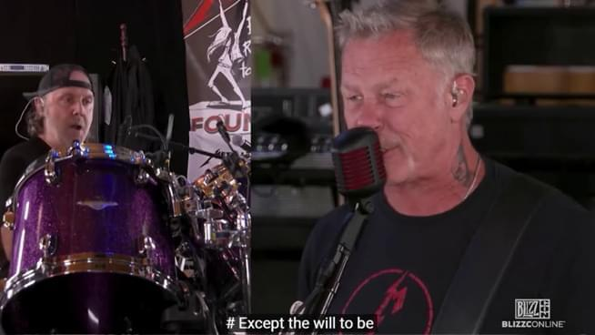Metallica Got Censored During Their Own Livestream