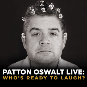 Win 2 Tix to Patton Oswalt on January 7th at Kingsbury Hall From KBER 101