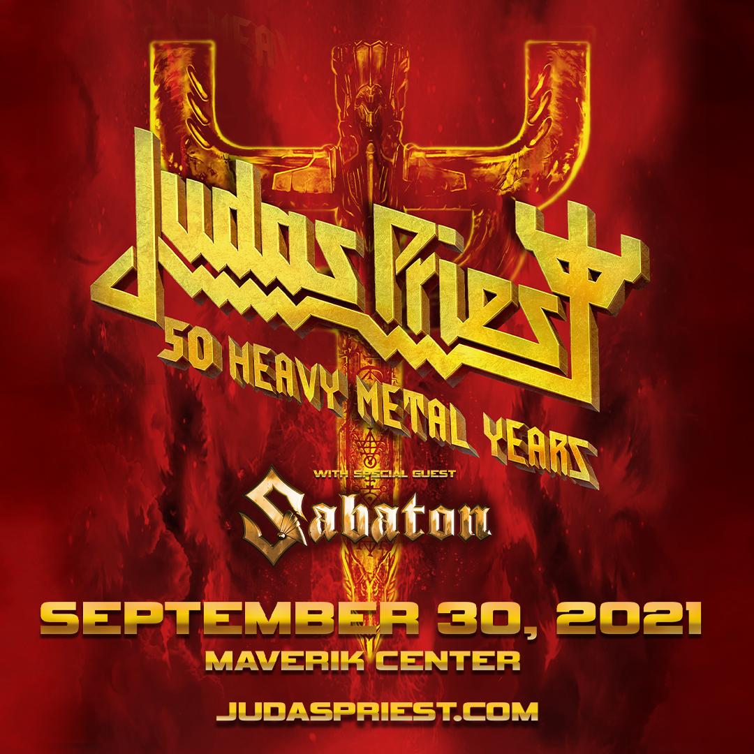 Win 2 Tix to Judas Priest on September 30th at The Maverik Center From KBER 101