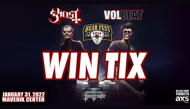 KBER 101 Presents Bearfest 2022 with Ghost and Volbeat