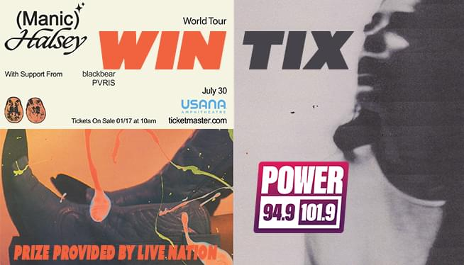 WIN TIX TO SEE HALSEY ON JULY 3OTH