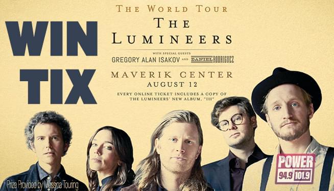 Win Lumineers Tix