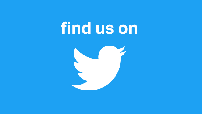 Find Us On Twitter!