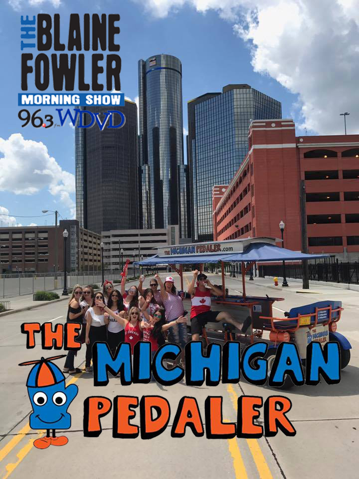 Blaine's Boo Tour with The Michigan Pedaler