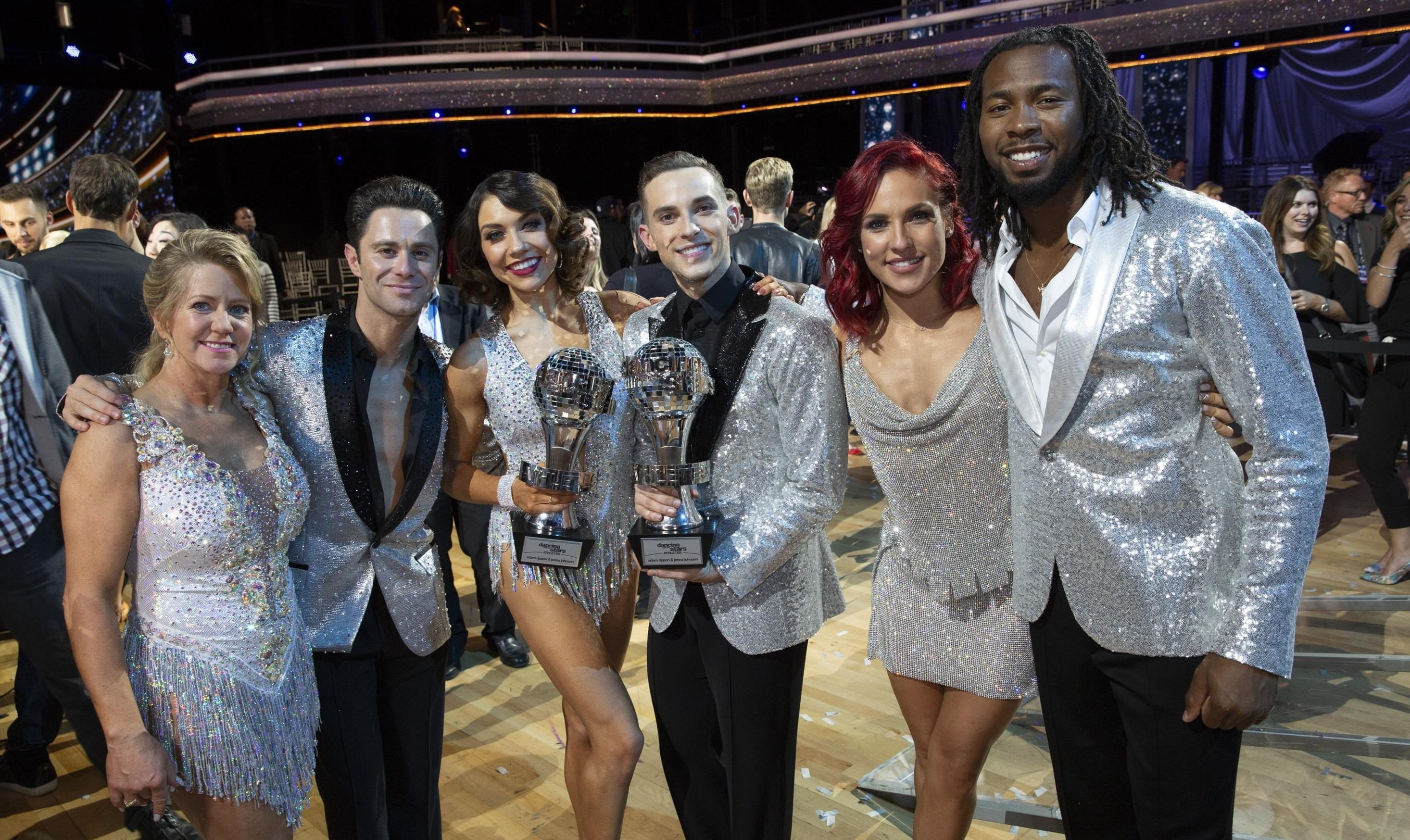 CONGRATS TO THE NEW  'DANCING WITH THE STARS: ATHLETES' WINNER!