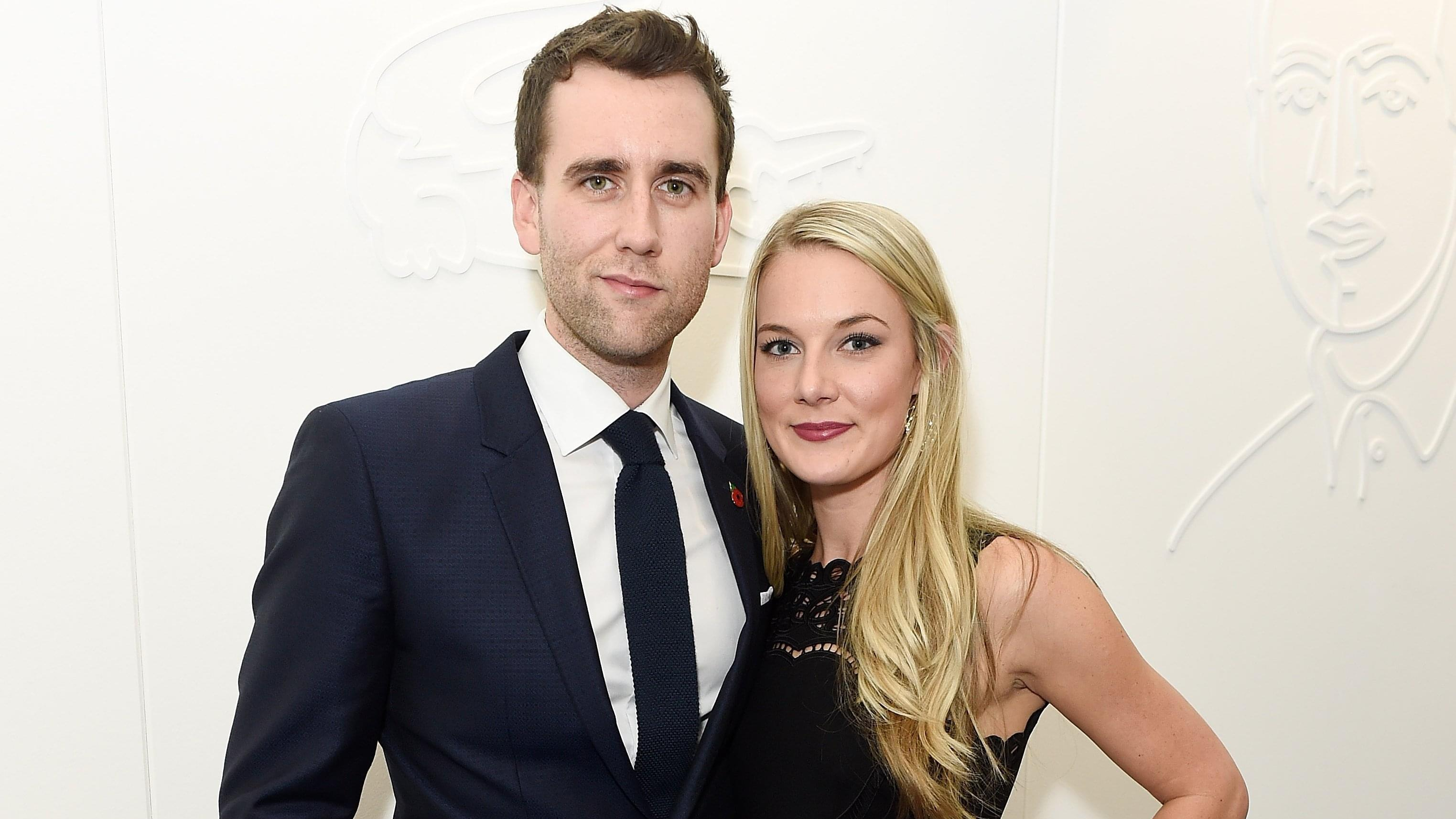 'HARRY POTTER' STAR MATTHEW LEWIS WEDS
