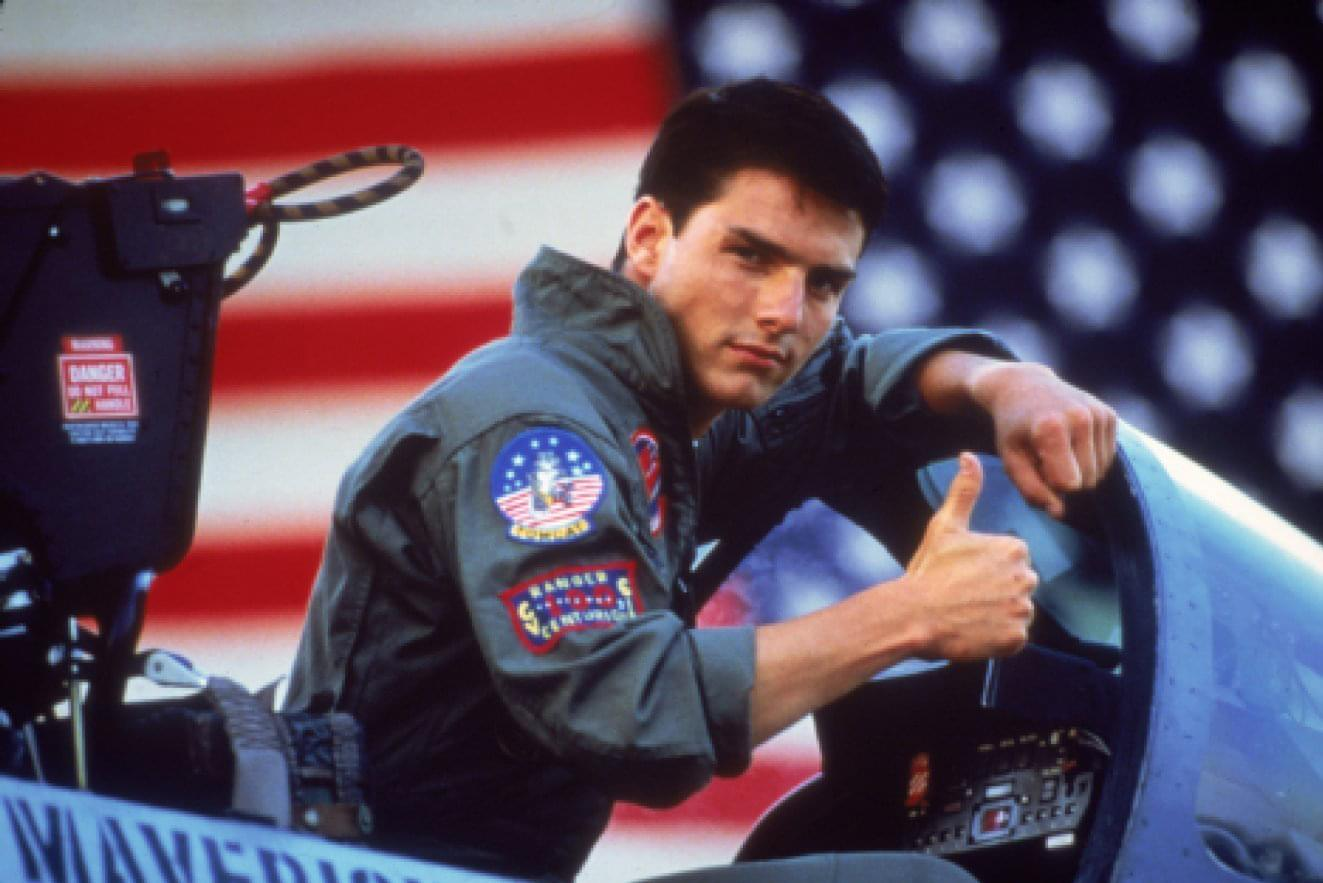 TOM CRUISE TEASES 'TOP GUN' SEQUEL