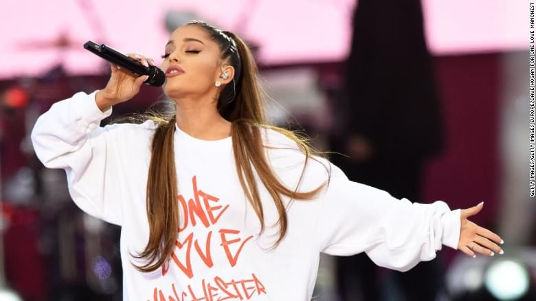 ARIANA GRANDE SAYS SHE STRUGGLES WITH PTSD