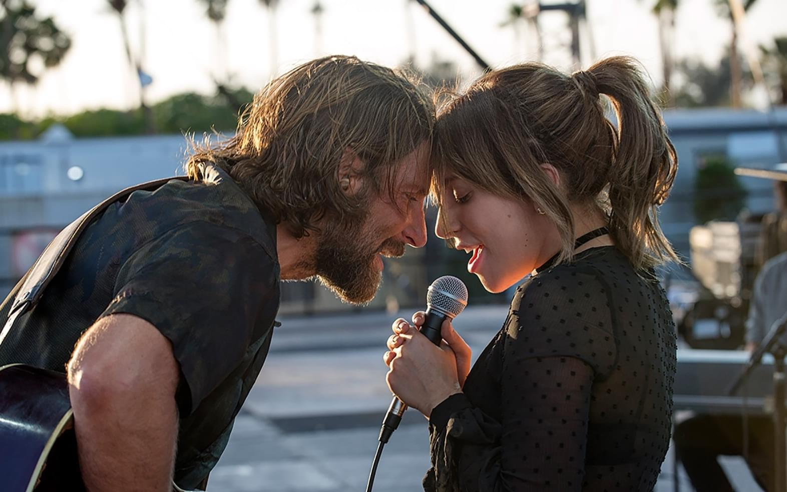 LADY GAGA STEPS INTO THE SPOTLIGHT IN THE 'A STAR IS BORN' TRAILER