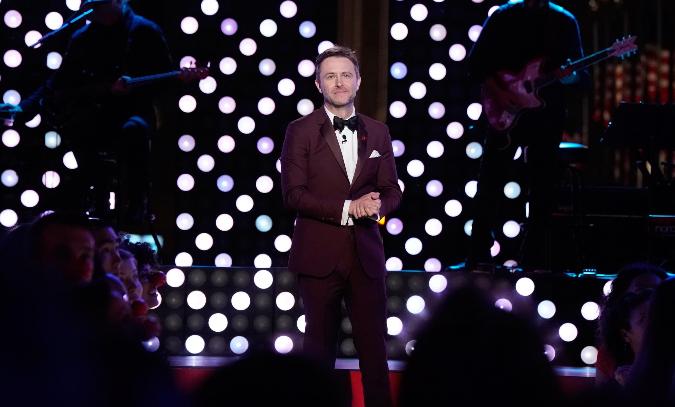 AMC SUSPENDS CHRIS HARDWICK TALK SHOW AFTER ALLEGATIONS