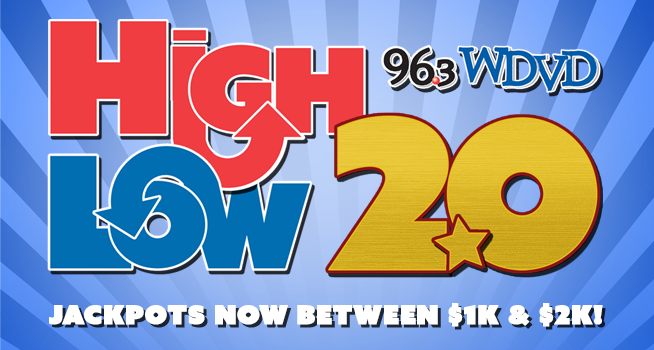 High/Low Jackpot 2.0 … Bigger and Better Than Ever!