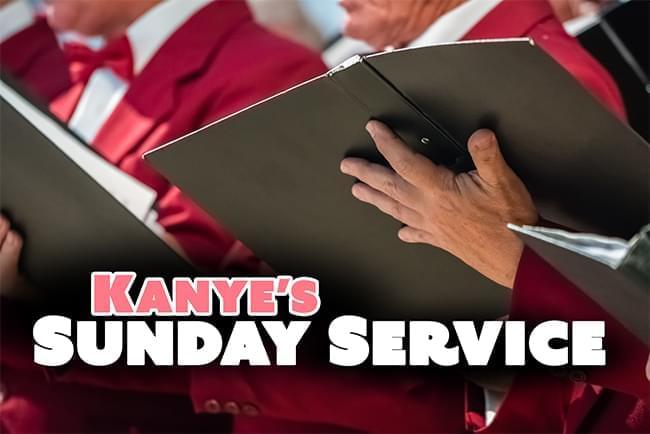 Kanye Brings Sunday Service to Detroit
