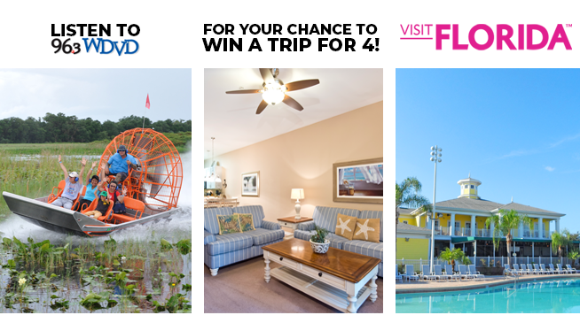 Escape Detroit's Winter to Florida with a Vacation for Four!
