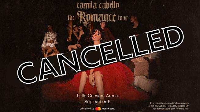Camila Cabello ~ September 5, 2020 ~ CANCELLED