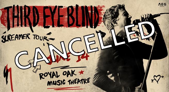 Cancelled Third Eye Blind ~ June 14, 2020