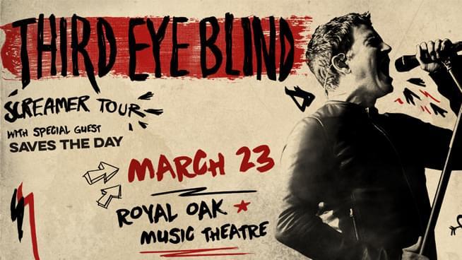 Third Eye Blind @ Royal Oak Music Theatre – March 23, 2020