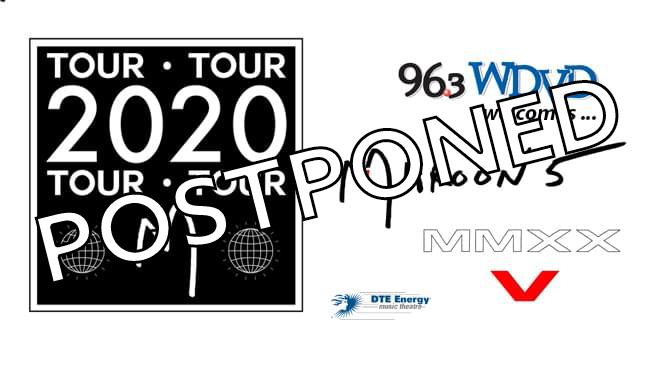 Maroon 5 ~POSTPONED from June 16, 2020