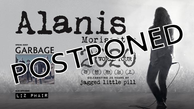 Alanis Morissette ~ July 21, 2020 POSTPONED