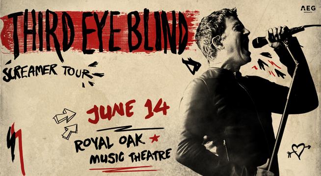 RESCHEDULED Third Eye Blind @ Royal Oak Music Theatre ~ June 14, 2020