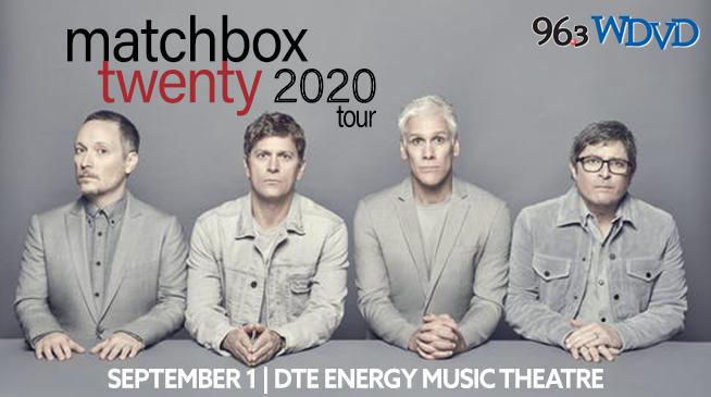 Matchbox Twenty ~ September 1, 2020