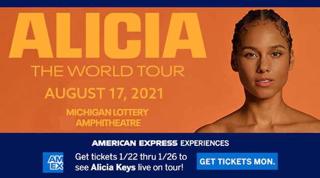 Alicia Keys ~ RESCHEDULED to August 17, 2021