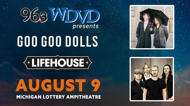 WDVD Summer Bash ~ Goo Goo Dolls & Lifehouse ~ Sunday, August 9, 2020