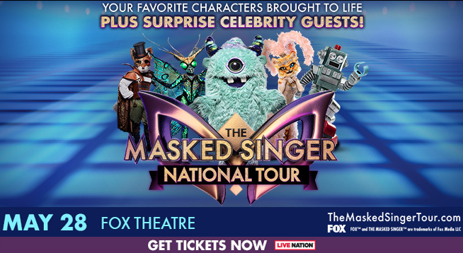 The Masked Singer National Tour – Thursday, May 28, 2020