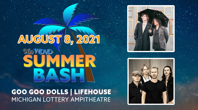 WDVD Summer Bash ~ Goo Goo Dolls & Lifehouse ~ RESCHEDULED to August 8, 2021