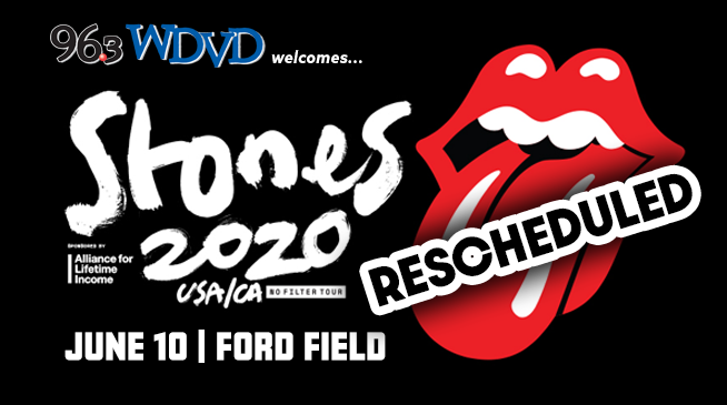 The Rolling Stones ~ June 10, 2020 ~ Rescheduled