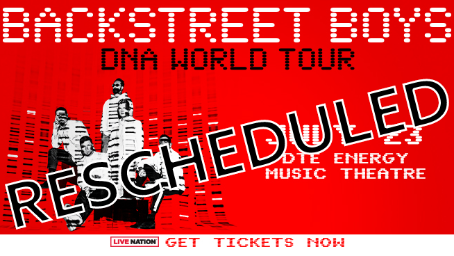 Backstreet Boys ~ RESCHEDULED to July 22, 2021