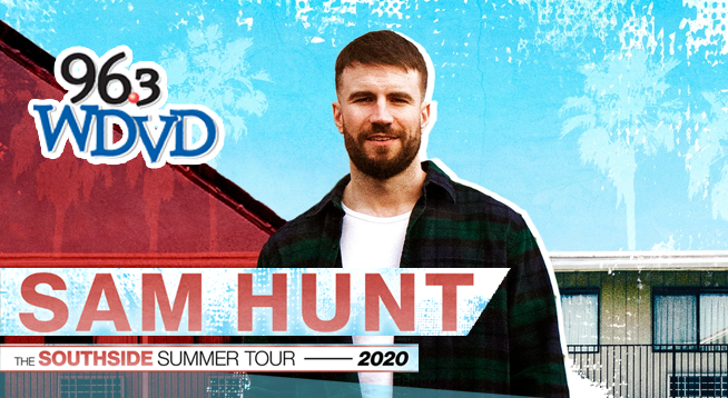 Sam Hunt ~ RESCHEDULED to September 5, 2020