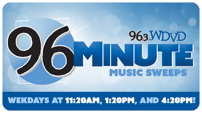 96 Minute Music Sweeps!