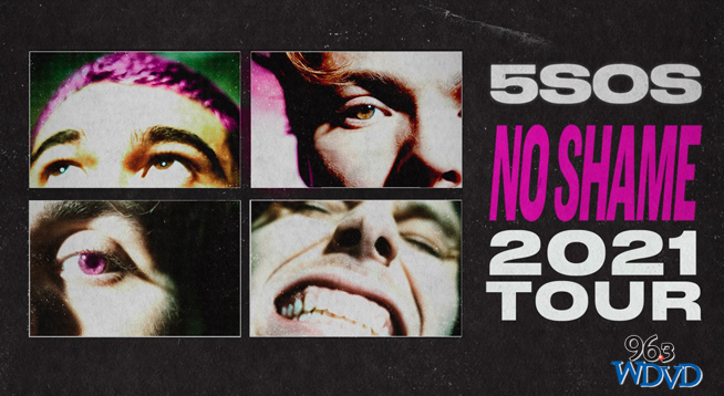 5 Seconds of Summer ~ RESCHEDULED to July 21, 2022