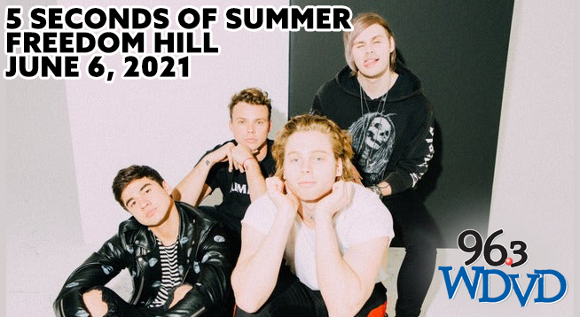 5 Seconds of Summer ~ RESCHEDULED to June 6, 2021