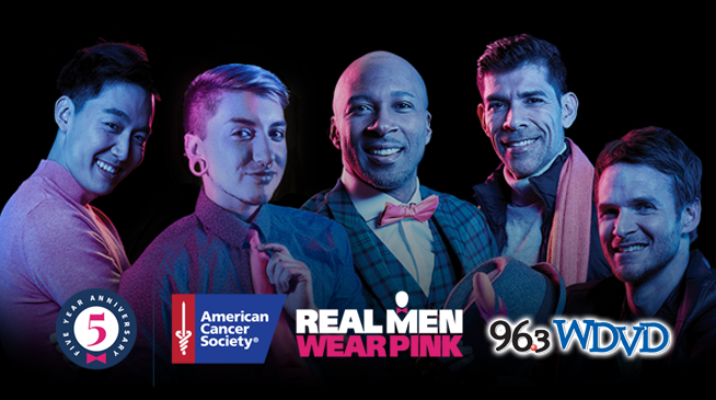 Real Men Wear Pink with 96.3 WDVD!