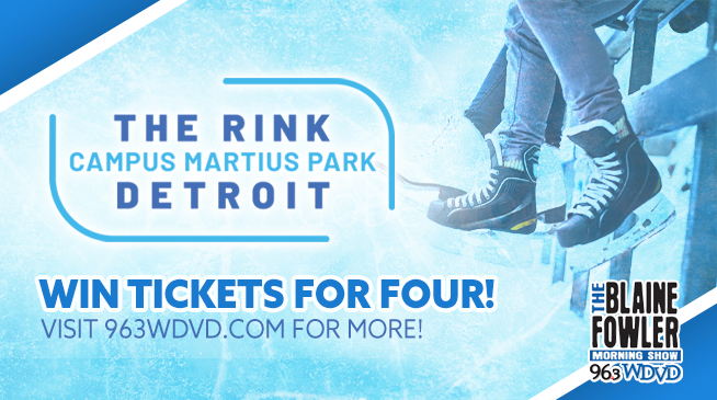 Win Tickets for Four to The Rink Campus Martius Park!