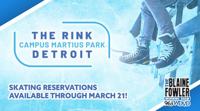 The Rink at Campus Martius Park!