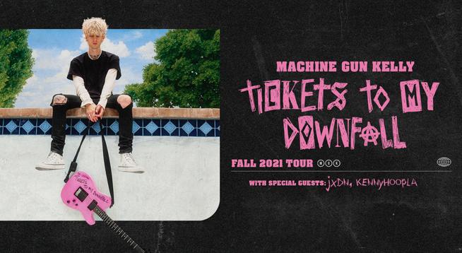 Machine Gun Kelly LIVE ~ Tuesday September 21, 2021