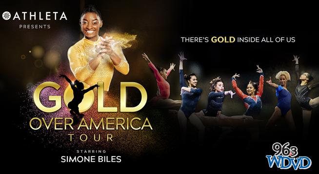 Gold Over America Tour Starring Simone Biles~ October 24, 2021