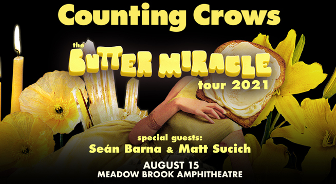 COUNTING CROWS   SUNDAY, AUGUST 15, 2021