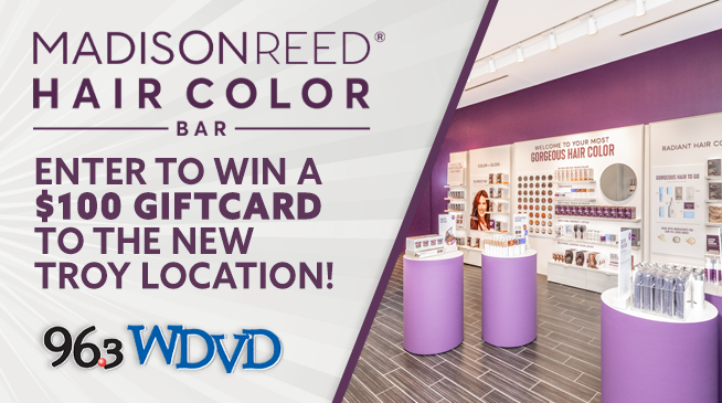 Win a $100 Giftcard at Madison Reed's New Troy Location!