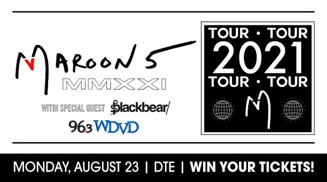 Maroon Monday! | Win Tickets to Maroon 5