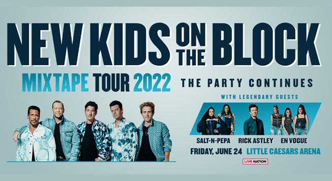 NEW KIDS ON THE BLOCK ~ JUNE 24, 2022