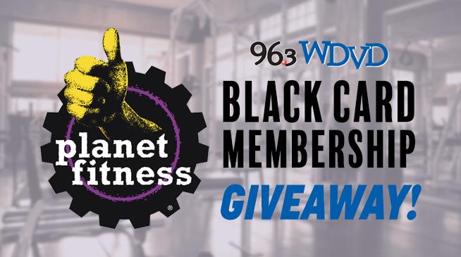 Planet Fitness Black Card Membership Giveaway