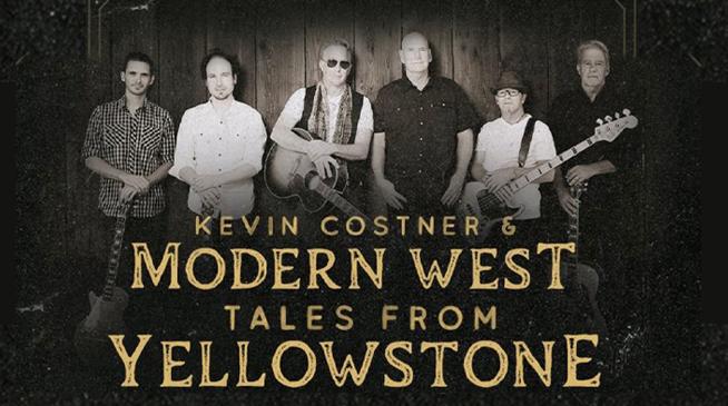 KEVIN COSTNER & MODERN WEST ~ NOVEMBER 1, 2021