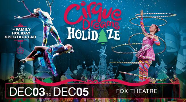 CIRQUE DREAMS HOLIDAZE ~ DECEMBER 3-5, 2021