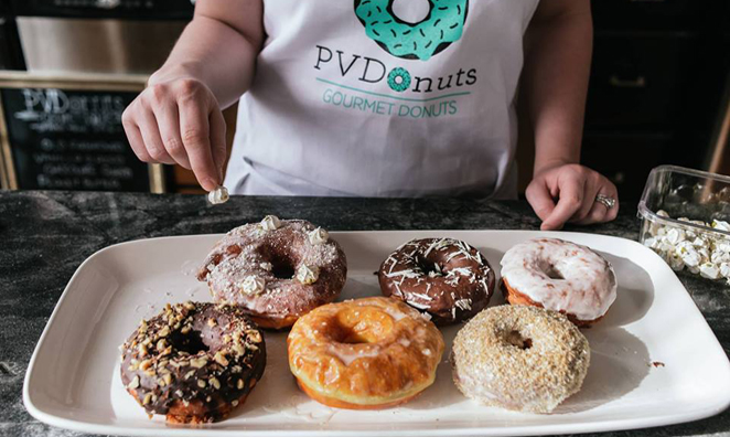 Providence's First Specialty Doughnut Shop Opening in May
